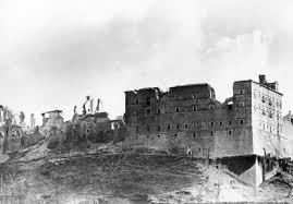 Montecassino ruin