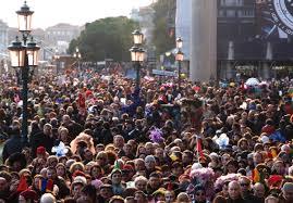 venice crowds