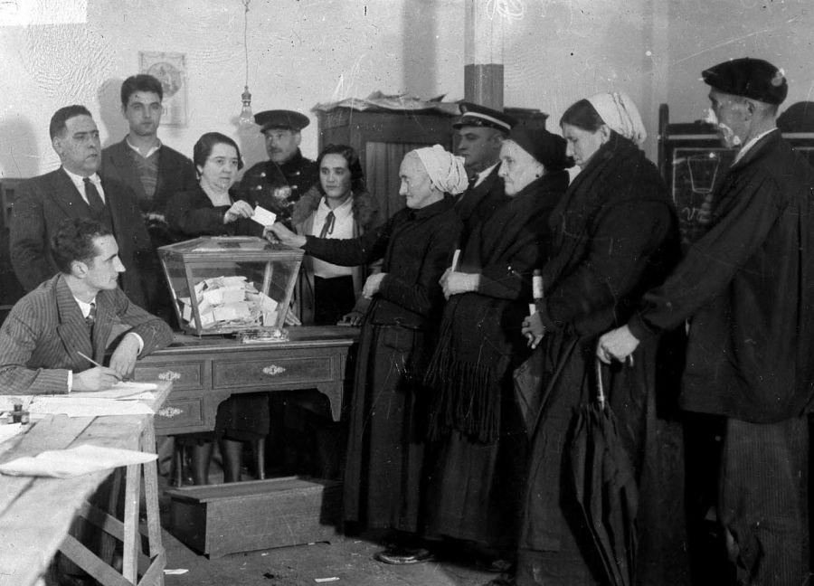 spanish women voting