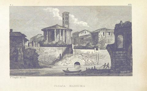 The_British_Lirary_Image_-_Cloaca_Maxima_Roma 1842